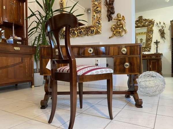 restaurierter Spätbiedermeier Schreibtisch Sekretär Schreibmöbel E2249