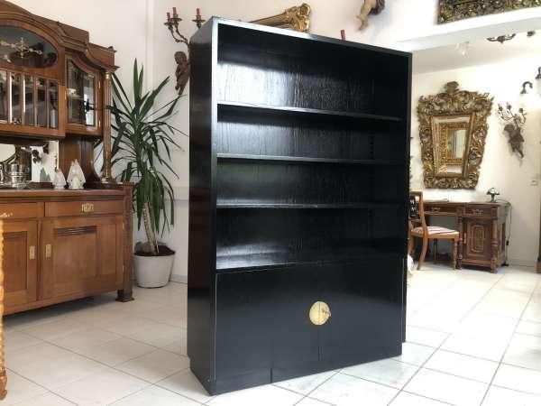 originaler Art Deco Bücherschrank Bücherregal Z1918