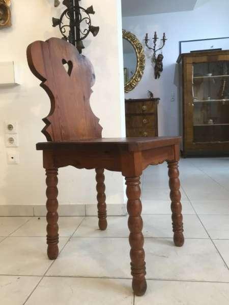 uriger Bauernsessel Sessel Stuhl Herzerlsessel Zirbenholz W3310