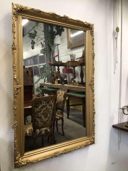 originaler FLorentiner Spiegel Holzspiegel Rosenspiegel E1397