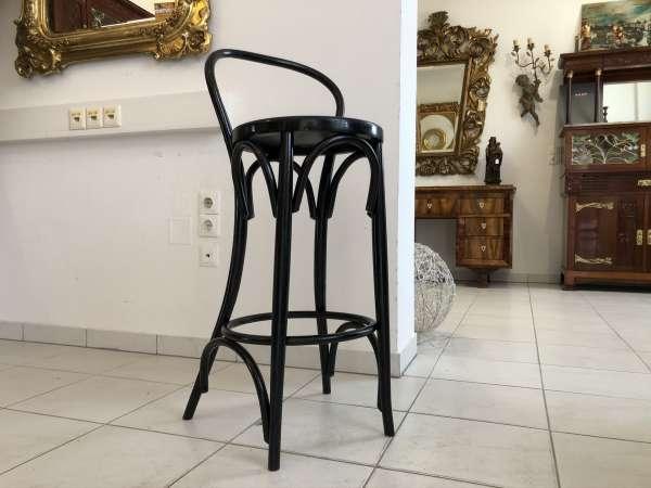 hübscher Barstuhl Thresenstuhl Sessel Sessel Bugholzmöbel E1393