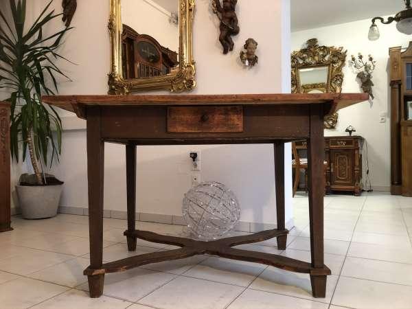 alter uriger Bauerntisch Jogltisch Tisch Landhaustisch gewachst Z2099