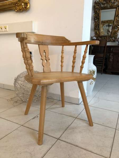 uriger Bauernsessel Stuhl Sessel Armlehnstuhl Z1147