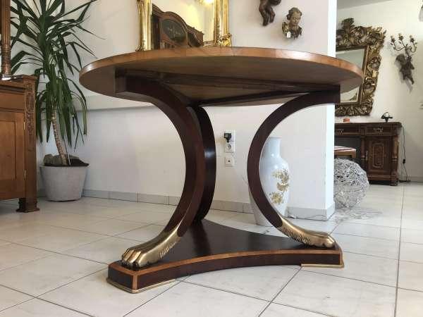 Empire Tafeltisch Tisch Esstisch Rittertisch Restaurierter Zustand Z1958