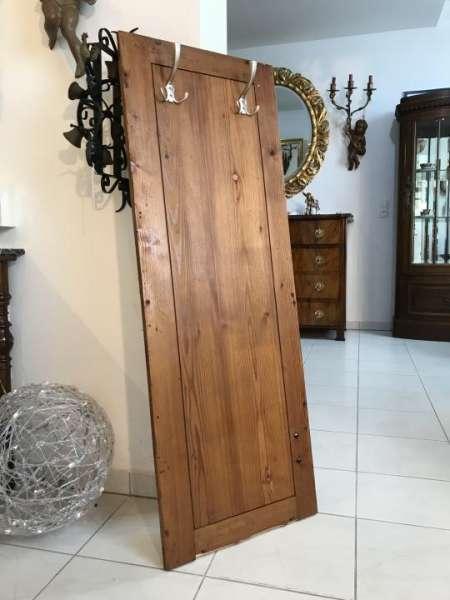 urige alte Naturholz Kleiderablage Garderobe W3001