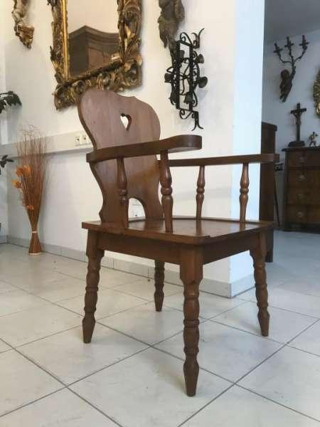 uriger Bauernsessel Stuhl Sessel Armlehnstuhl W3307