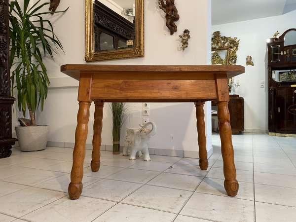 alter uriger Bauerntisch Zirbenholz Tisch Bauernstube A2584