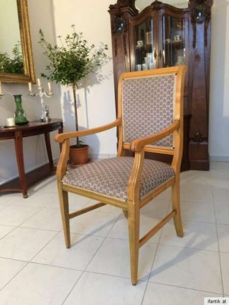 Armlehnstuhl Fauteui Barock Schreibtisch Sessel Stuhl Nr. 7071