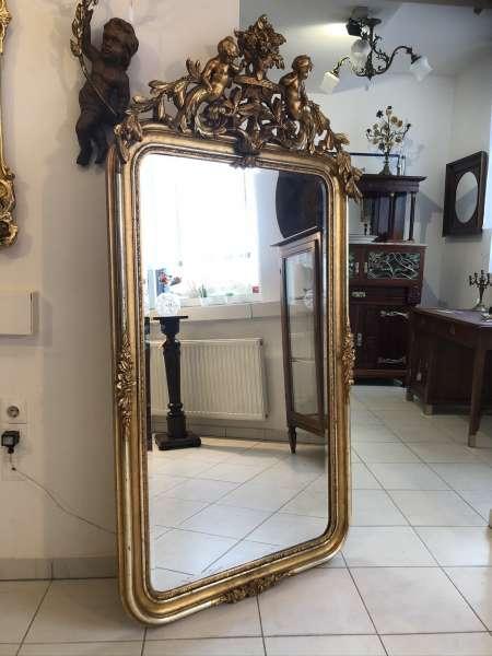 originaler Florentiner Spiegel Venezianerspiegel Stuck E1069