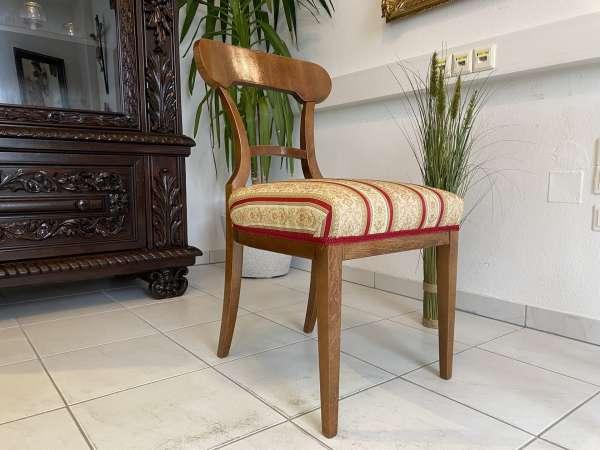 Biedermeier Sessel Nussholz Schaufelsessel Original A2517