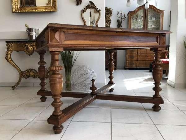 Gründerzeit Tisch Esstisch Klapptsich Auszugtisch X1895