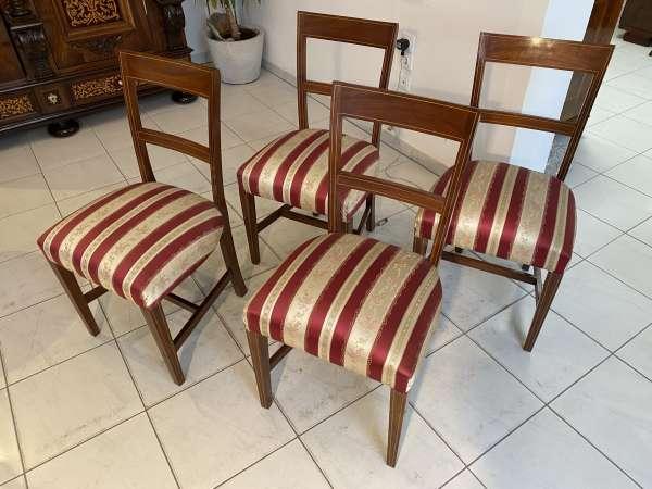 Ensemble hübscher Kolonial Stil Sessel Stuhl 1 er Set A2333