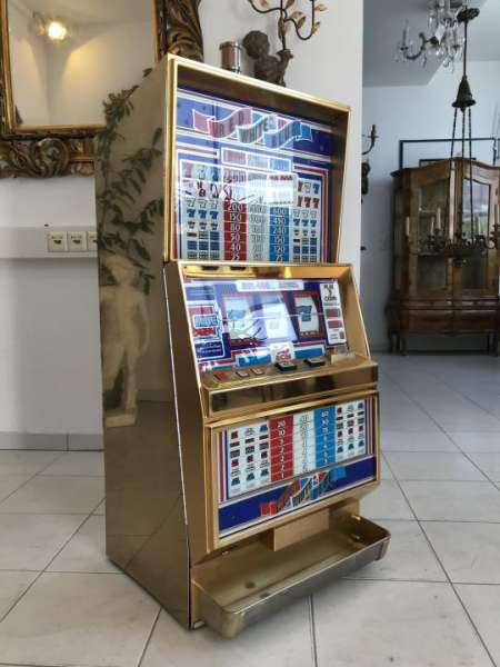Automat Casinoautomat Einarmiger Bandit 80iger Jahre W3229