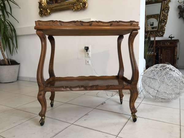 stilvoller Barockstil Serviertisch Tischerl Beistelltisch Z1843