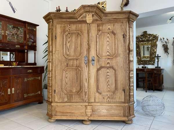 originaler Bauernschrank Barockschrank Säulenschrank E2328