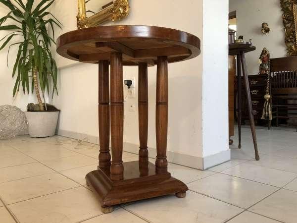 runder Art Deco Tisch Esstisch Säuelntisch Z1300