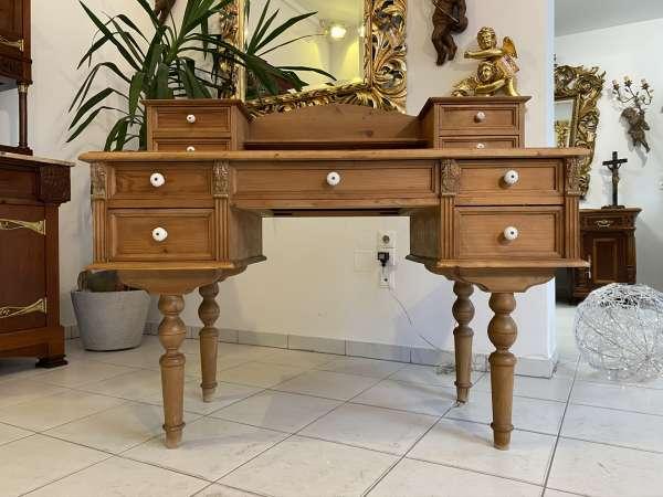 hübscher Naturholz Schreibtisch Fichtenholz E2068