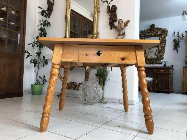 alter Bauerntisch Zirbenholz Tisch Bauernstube X2179